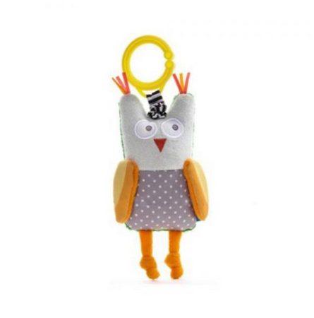 Taf Toys Obi a bagoly rezgő-csörgő játékfigura