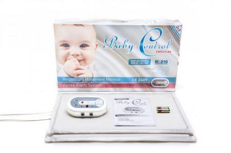 Baby Control 210 kétlapos légzésfigyelő