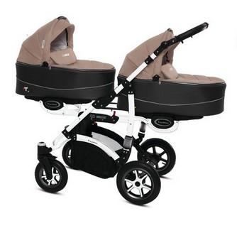 Babyactive Twinni Premium iker és testvér babakocsi