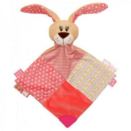 Baby Mix Rózsaszín Nyuszi szundikendő