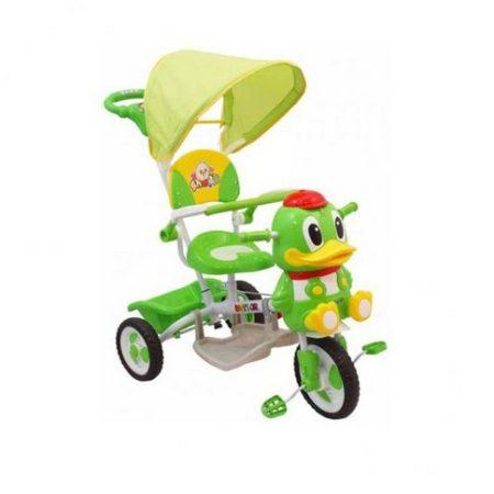 Baby Mix Kacsa zenélő szülőkormányos tricikli