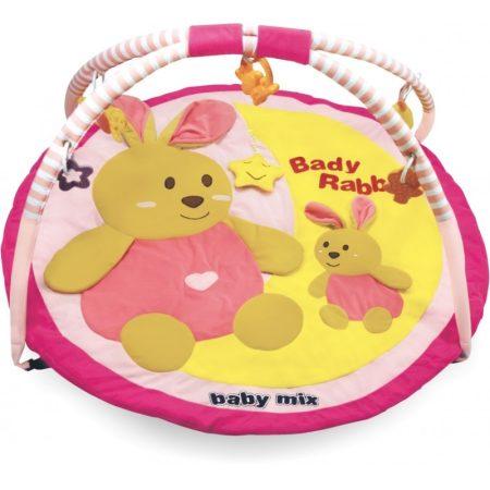 Baby Mix Pink nyuszis játszószőnyeg
