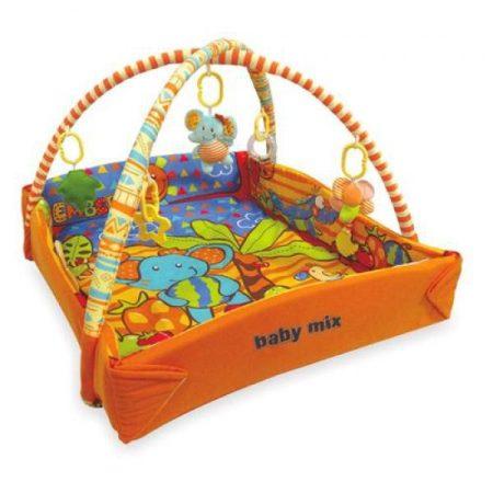 Baby Mix Elefántos peremes játszószőnyeg