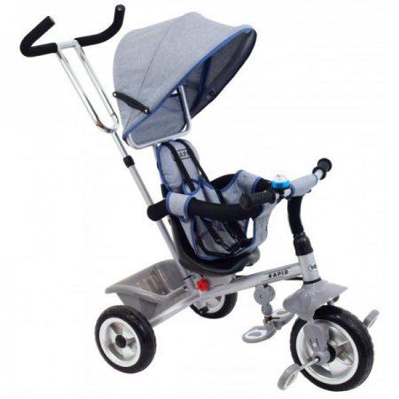 Baby Mix Rapid szülőkormányos tricikli kupolával