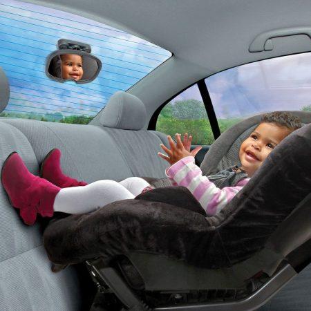 Munchkin ablakra és napellenzőre rakható autós tükör