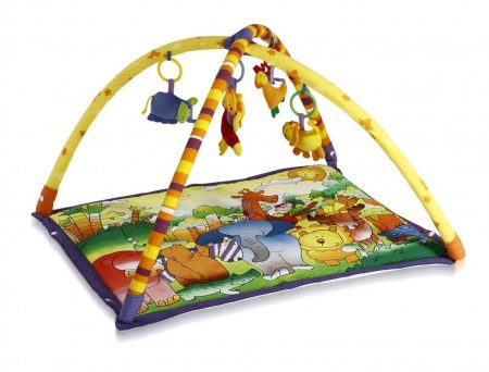 Dzsungel állatos Lorelli játszószőnyeg