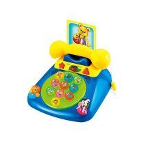Chipolino zenélő játéktelefon