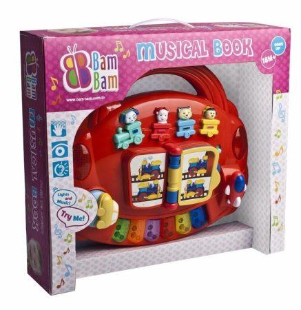 Zenélő könyv BamBam Készségfejlesztő játék