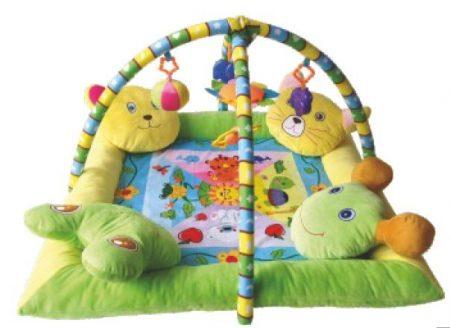 Lorelli Toys játszószőnyeg 4 párnás peremmel