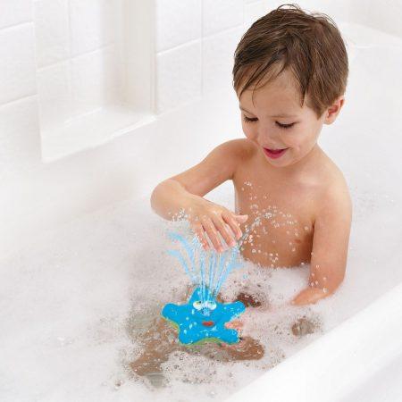Világító csillag szökőkút Munchkin fürdőjáték