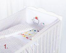 Klups 3 részes ágynemű szett
