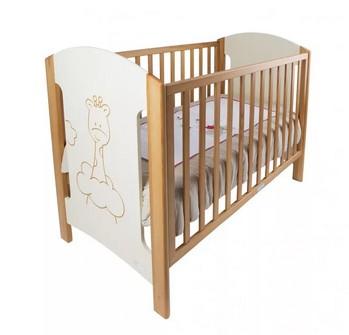 ZY Baby Zsiráf kiságy 60x120 cm