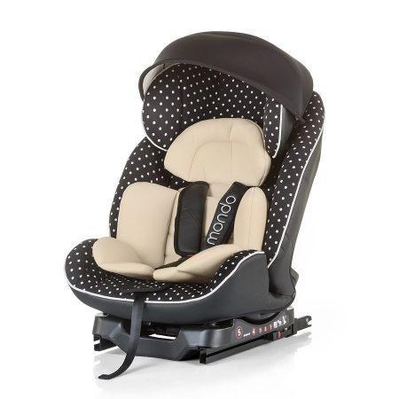 Chipolino Mondo Isofix autós gyerekülés 0-25 kg