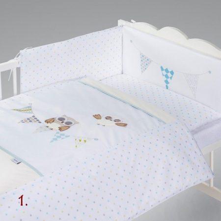 Klups 5 részes ágynemű garnitúra
