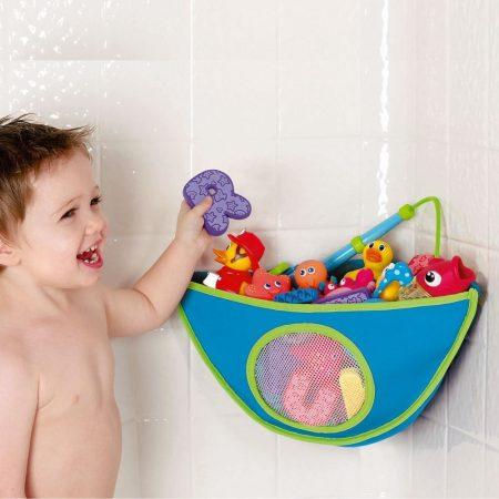 Munchkin fürdőjáték tároló sarokba