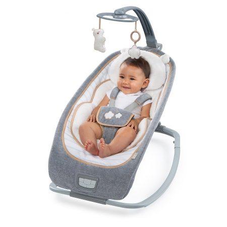 Bright Starts Luxe Baby rezgő-zenélő pihenőszék