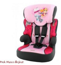 Pink Mancs őrjárat Disney Beline SP autós gyerekülés 9-36 kg