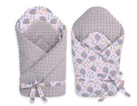 BabyLion Premium merevített pólya-Minky