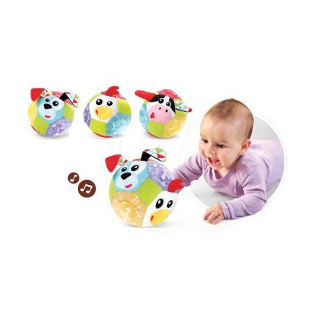 Yookidoo zenélő készségfejlesztő plüss labda