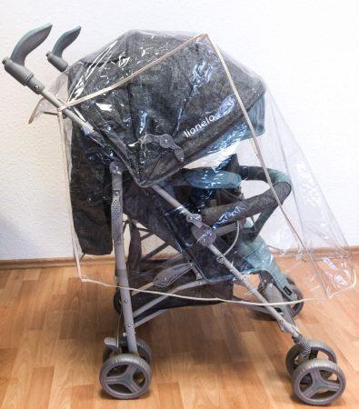 BabyLion esővédő esernyőre csukható babakocsihoz