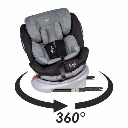 Hapi Ozy Isofix forgatható autós gyerekülés 0-36 kg