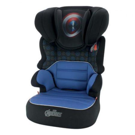 Amerika kapitány Marvel Befix SP GT autós gyerekülés 15-36 kg