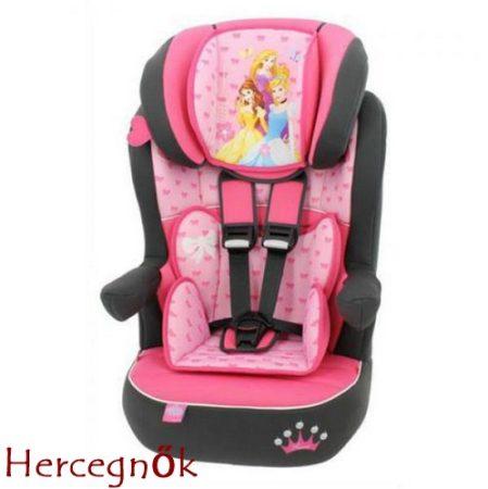 Hercegnő Disney I-Max autós gyerekülés 9-36 kg