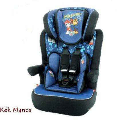 Kék Mancs őrjárat Disney I-Max autós gyerekülés 9-36 kg