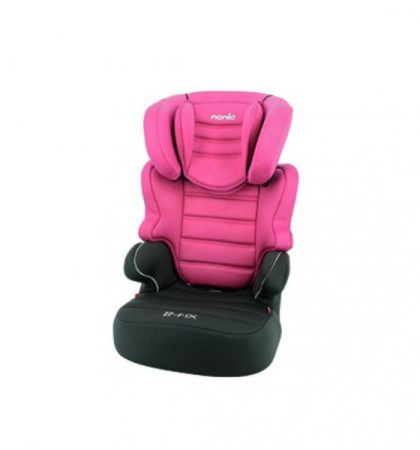 Pink Nania Befix SP Luxe autós gyerekülés 15-36 kg