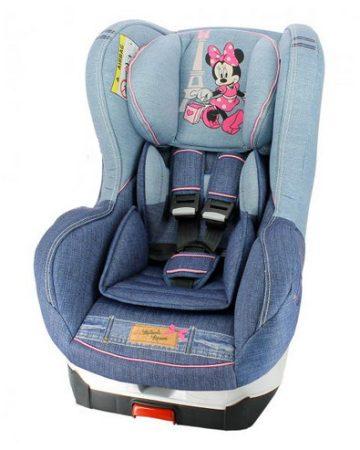 Minnie Denim Disney Primo autós gyerekülés 0-25 kg
