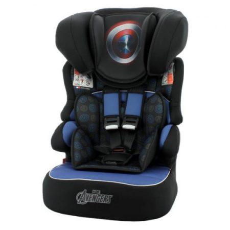 Amerika kapitány Marvel Beline Luxe SP autós gyerekülés 9-36 kg