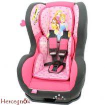 Hercegnő Disney Cosmo autós gyerekülés 0-18 kg
