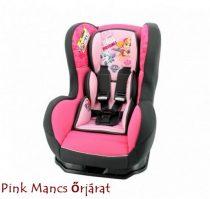 Pink Mancs őrjárat Disney Cosmo autós gyerekülés 0-18 kg