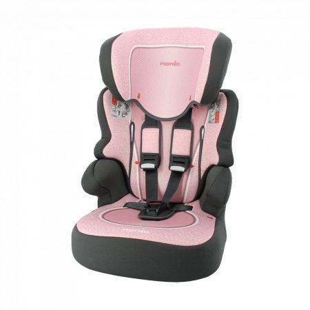 Pink Nania Beline Skyline autós gyerekülés 9-36 kg