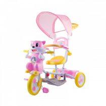 Cicás zenélő szülőkormányos tricikli