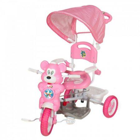 Macis zenélő szülőkormányos tricikli