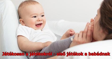 Játékosan a játékokról - első játékok a babádnak