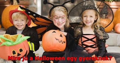 Mire jó a Halloween egy gyereknek?