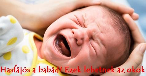 Hasfájós a babád? Ezek lehetnek az okok