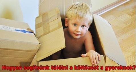 Hogyan segítsünk túlélni a költözést a gyereknek?